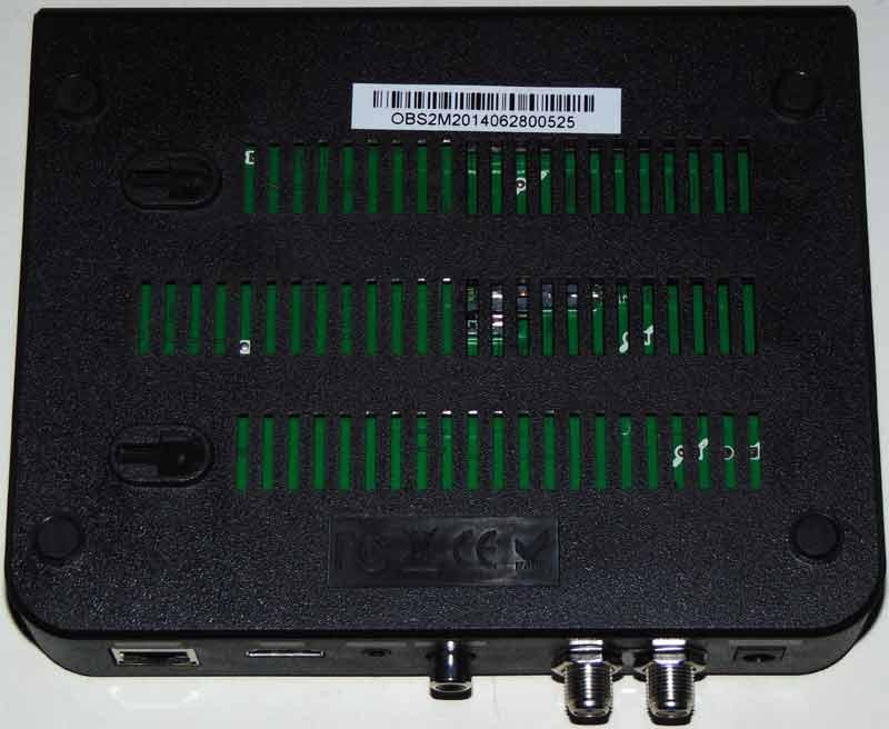 Openbox S2 Mini HD нижняя сторона и штрих-код