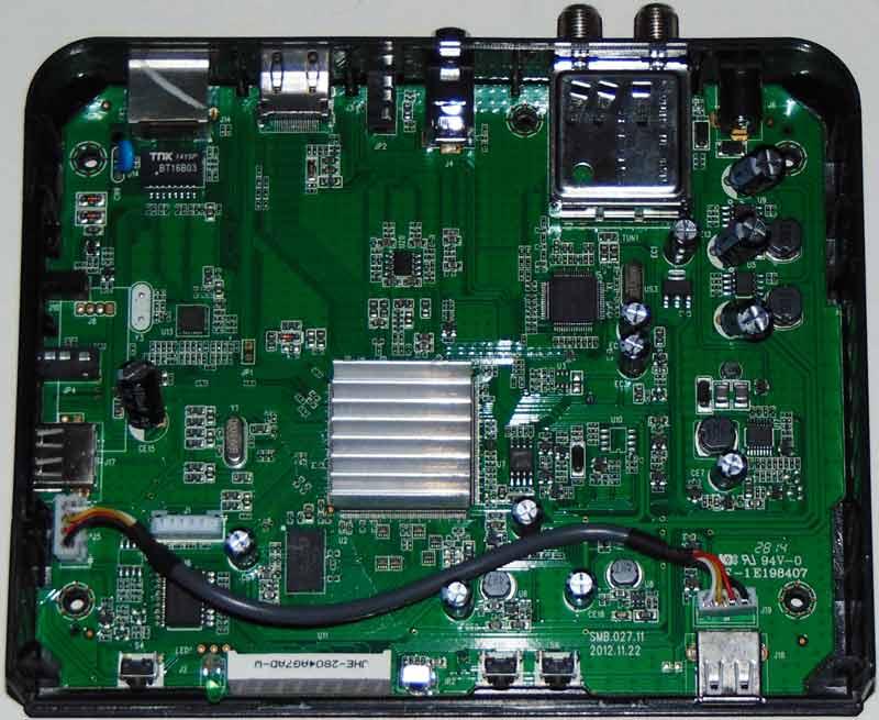 Openbox S2 Mini HD что находится внутри
