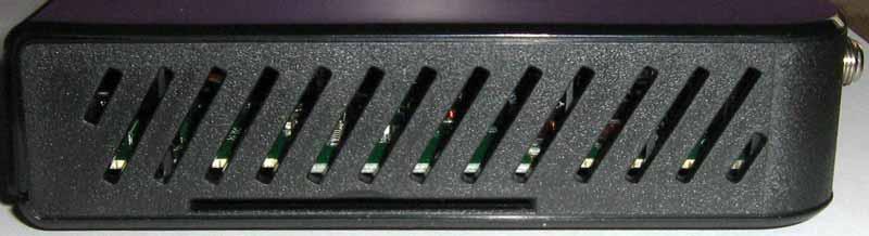 Openbox S2 Mini HD картовод на правой стороне
