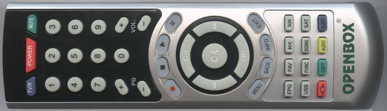 Openbox S2 Mini HD пульт дистанционного управления