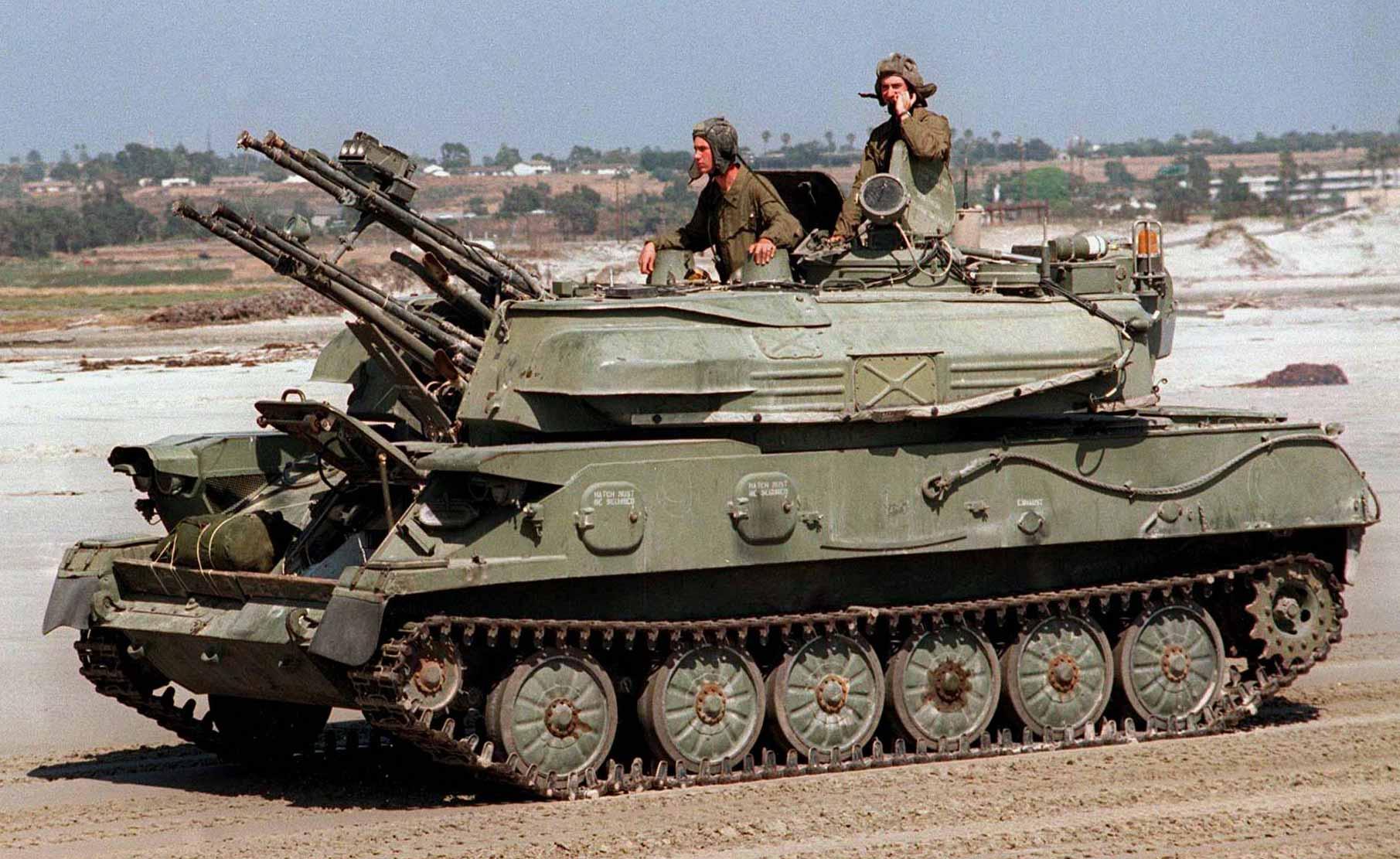 Советская армейская ПВО ЗСУ-23-4 Шилка легендарная