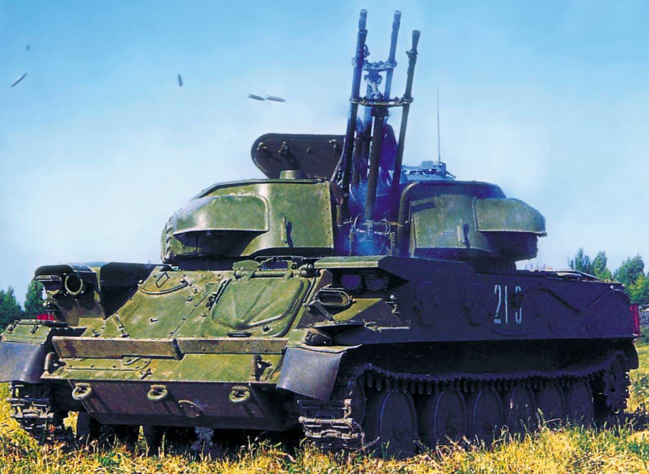 ЗСУ-23-4 Шилка - СССР противовоздушная оборона
